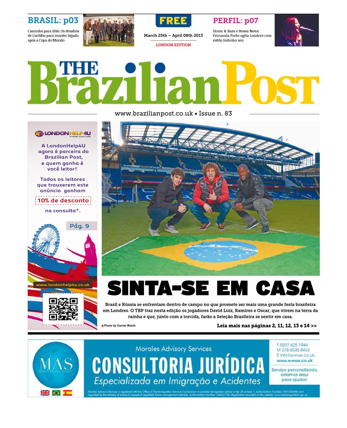 The Brazilian Post - Portuguese - Issue 83 by The Brazilian Post - issuu 2845ae0d8f38a