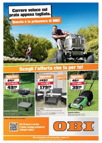 Sedie Pieghevoli Offerte Torino.Volantino Obi Area12 Shopping Center Torino Dal 28 3 Al 14 4 2013