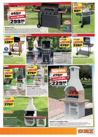Volantino obi area12 shopping center torino dal 28 3 al 14 for Barbecue in muratura obi