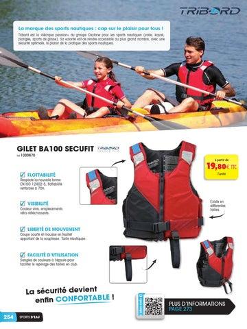 Tribord est la «Marque passion» du groupe Oxylane pour les sports nautiques  (voile, kayak, plongée, sports de glisse). e926600ab44