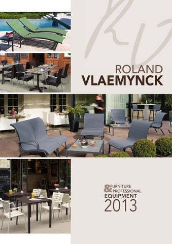 Roland VLAEMYNCK Outdoor Furniture Catalogue By Roland Vlaemynck   Issuu