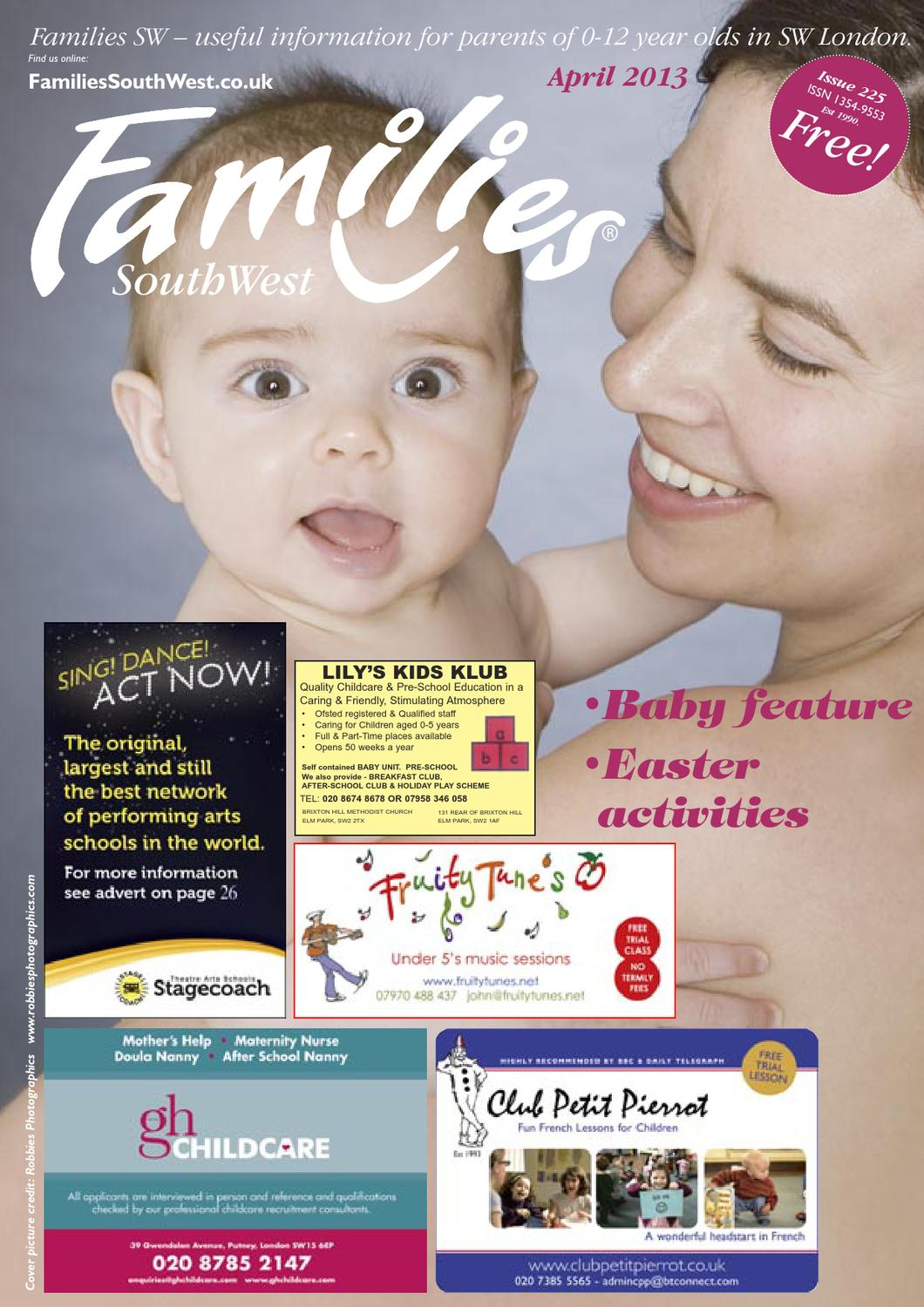 Families London SW Issue 225 April 2013 by Families Magazine - issuu