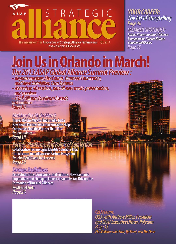 Strategic alliance magazine q1 2013 by asap issuu fandeluxe Gallery