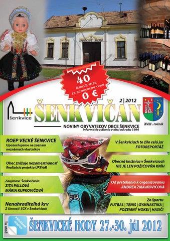 7e02fd2bd98e Šenkvičan 02 2012 by Obec Šenkvice - issuu
