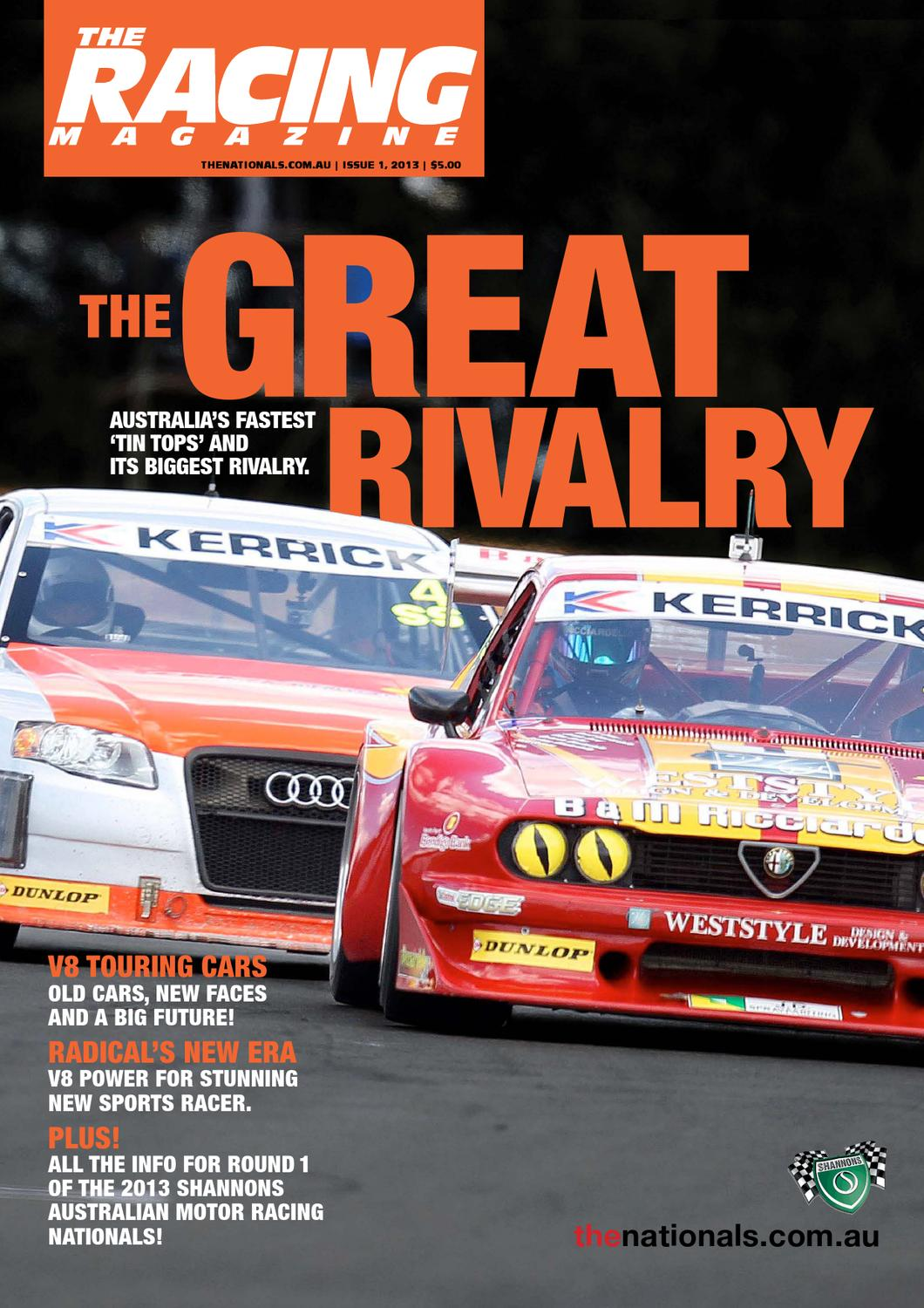 The Racing Magazine - Issue 1 by Richard Craill - issuu
