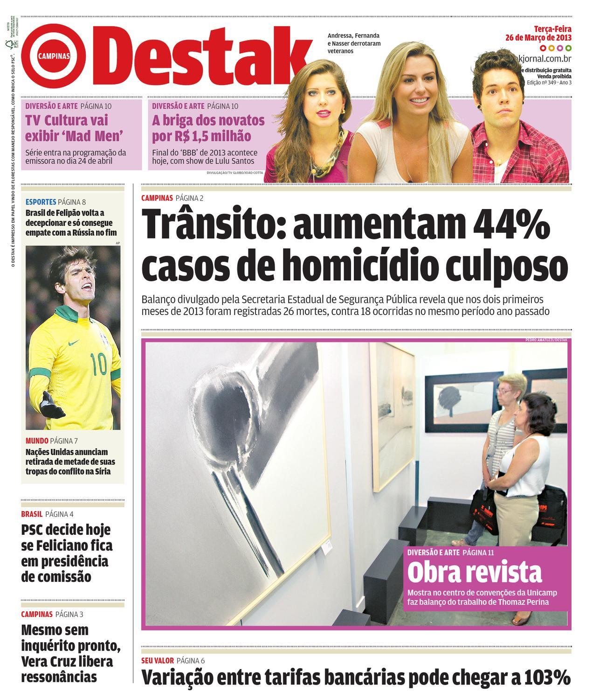 ee9f426b20131 Campinas - 349 by Destak Jornal - issuu