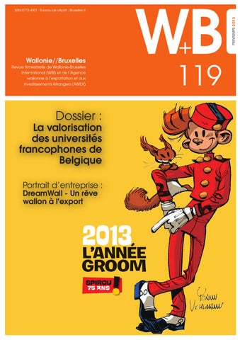 Revue W+B n°119 by Wallonie-Bruxelles International - issuu e412718ca297