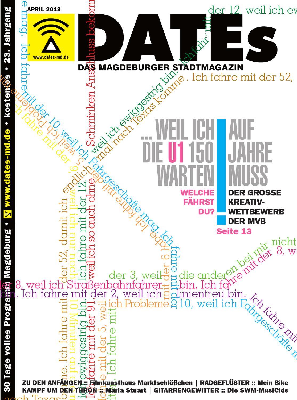 DATEs Magdeburg - Juni 2013 by DATEs Medien Verlag GmbH - issuu