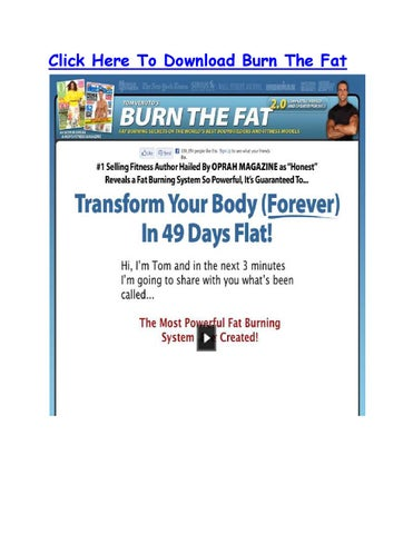Ebook Burn The Fat Feed The Muscle