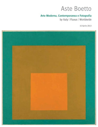 asta di arte moderna e contemporanea by aste boetto issuu
