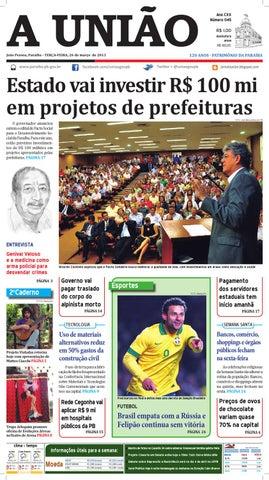 Jornal A União by Jornal A União - issuu 849cb89293141