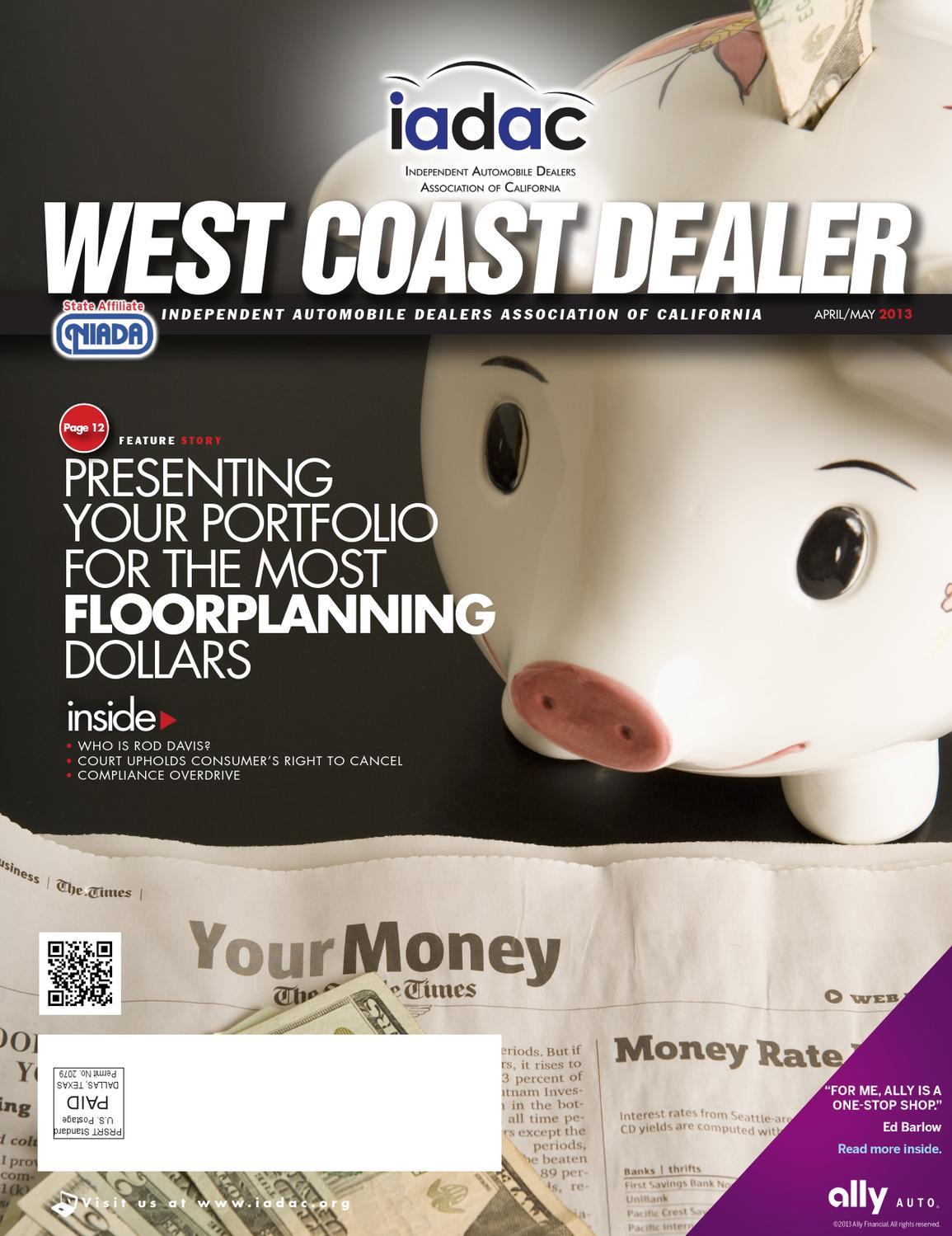 Floorplanning West Coast Dealer April May 13 By Niada Issuu