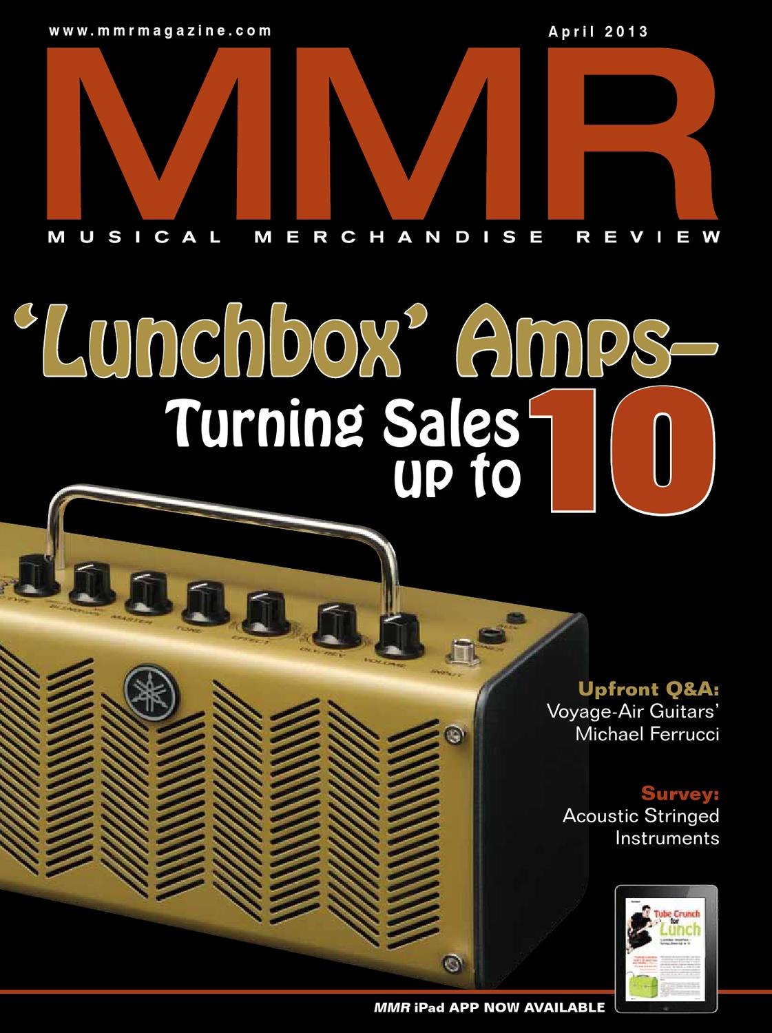 MMR April 2013 by MMR - Musical Merchandise Review - issuu