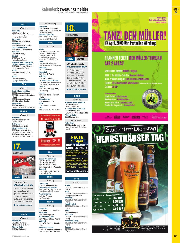 Frizz Wurzburg 04 13 By Frizz Das Magazin Wurzburg Issuu