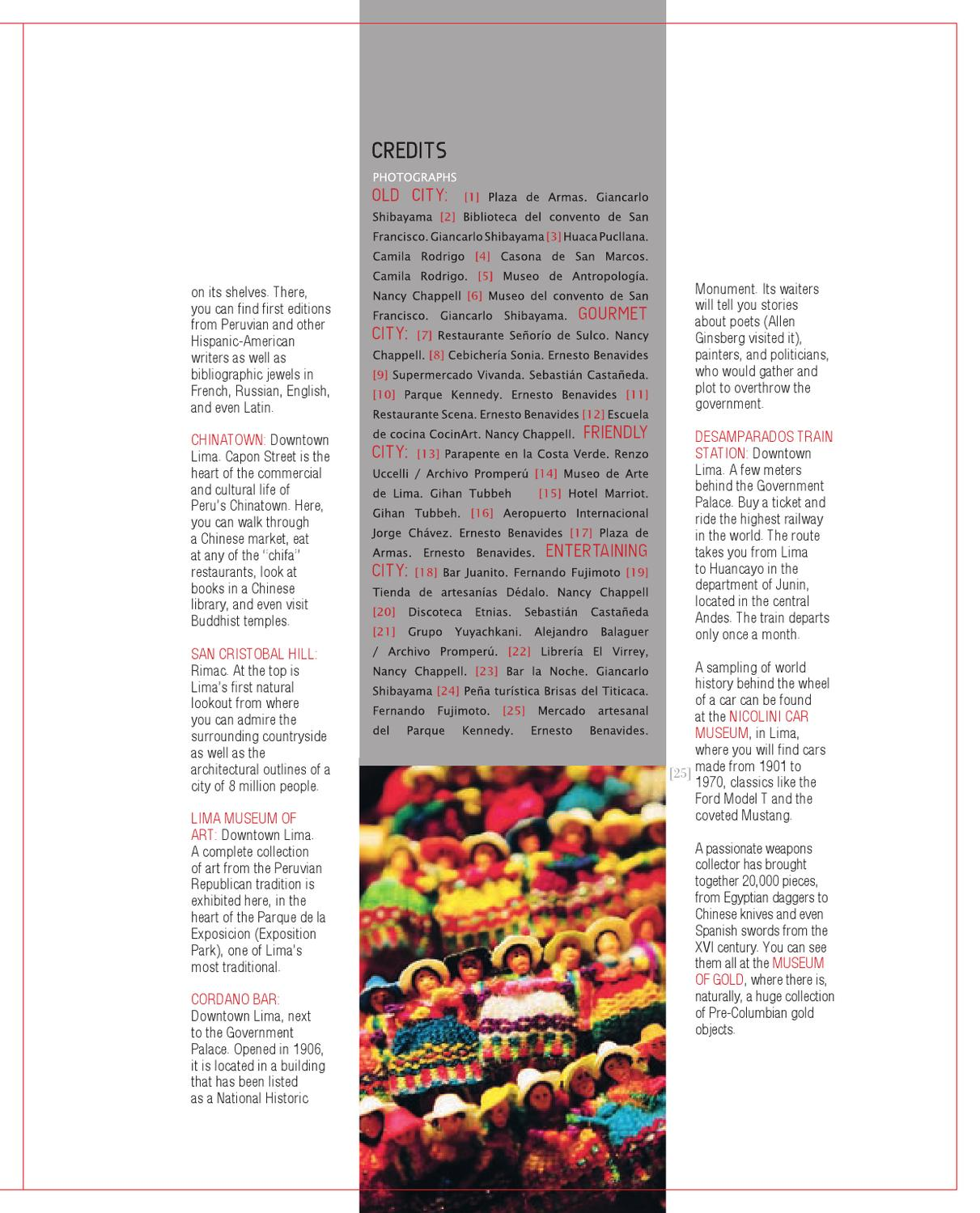 Lima Many Cities In One 10231 By Visit Peru Issuu