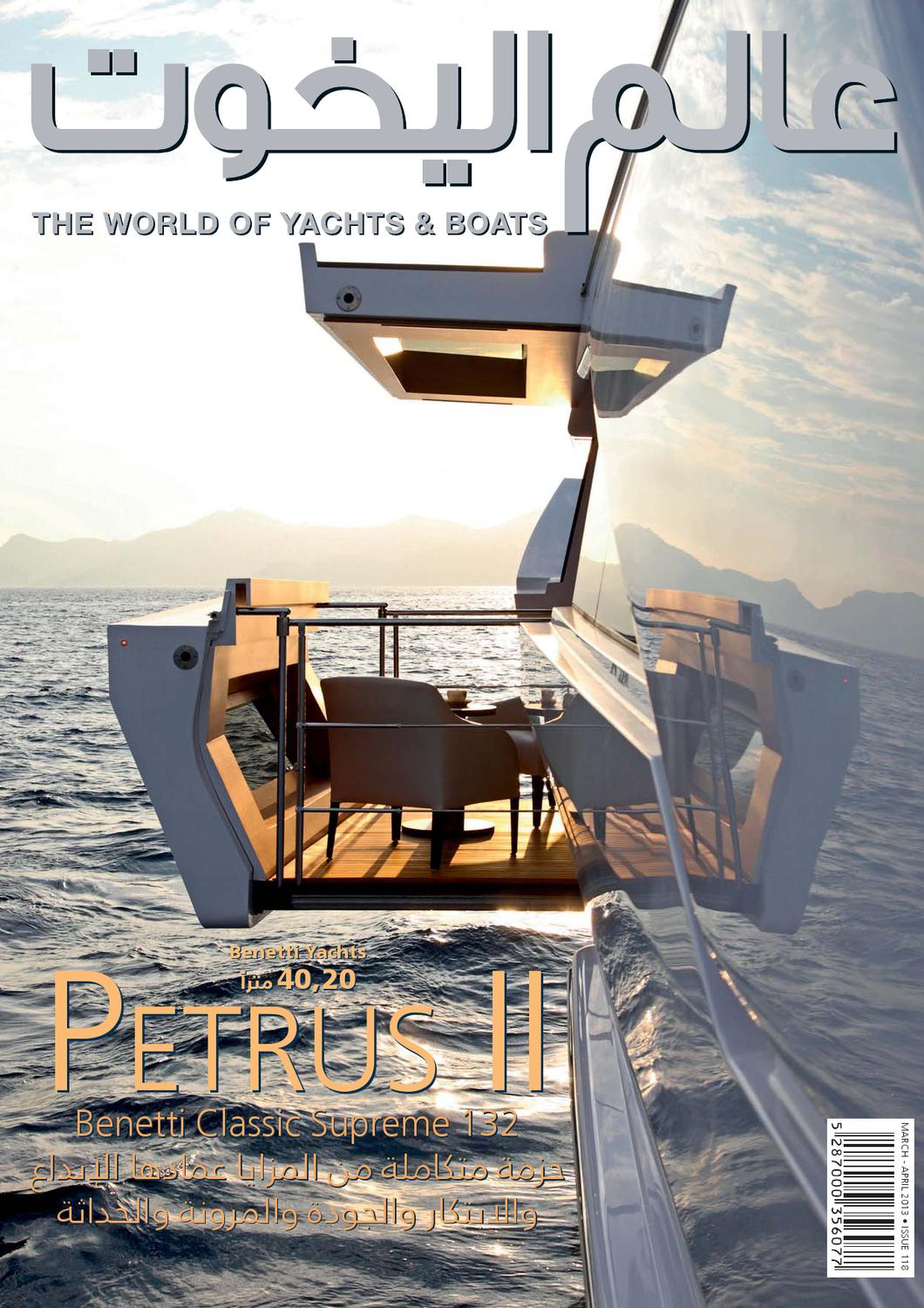 919073bbf March / April 2013 issue by The World of Yachts & Boats - issuu