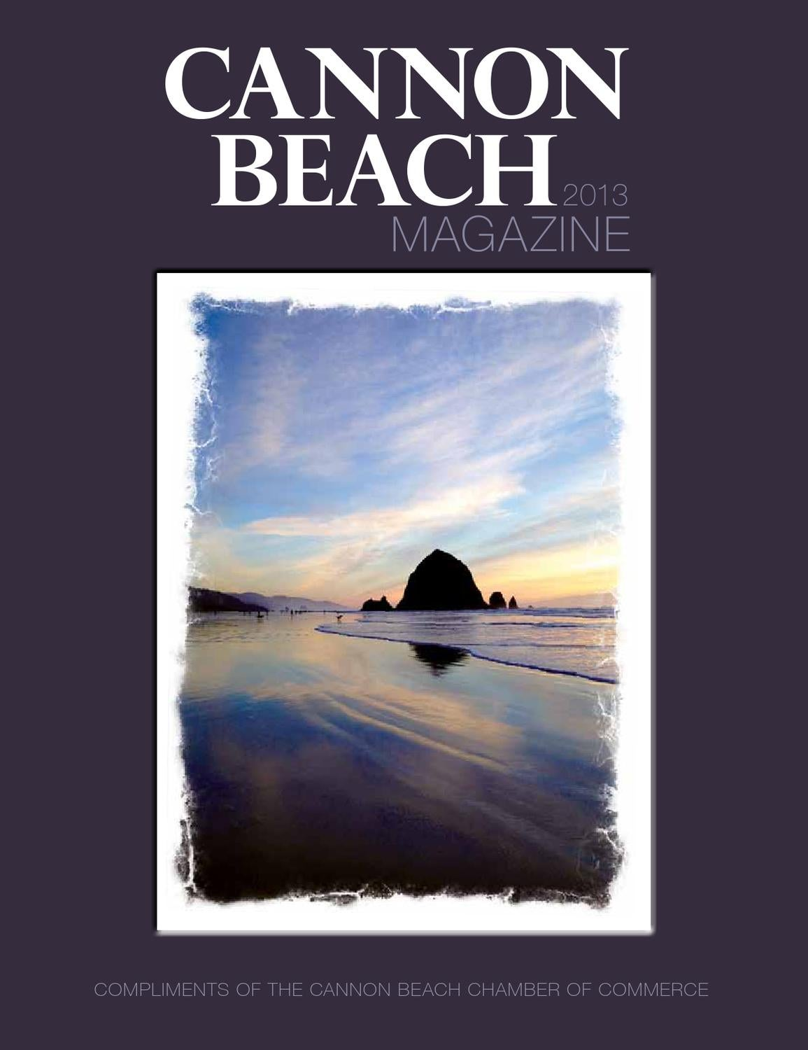 Cannon Beach Magazine 2013