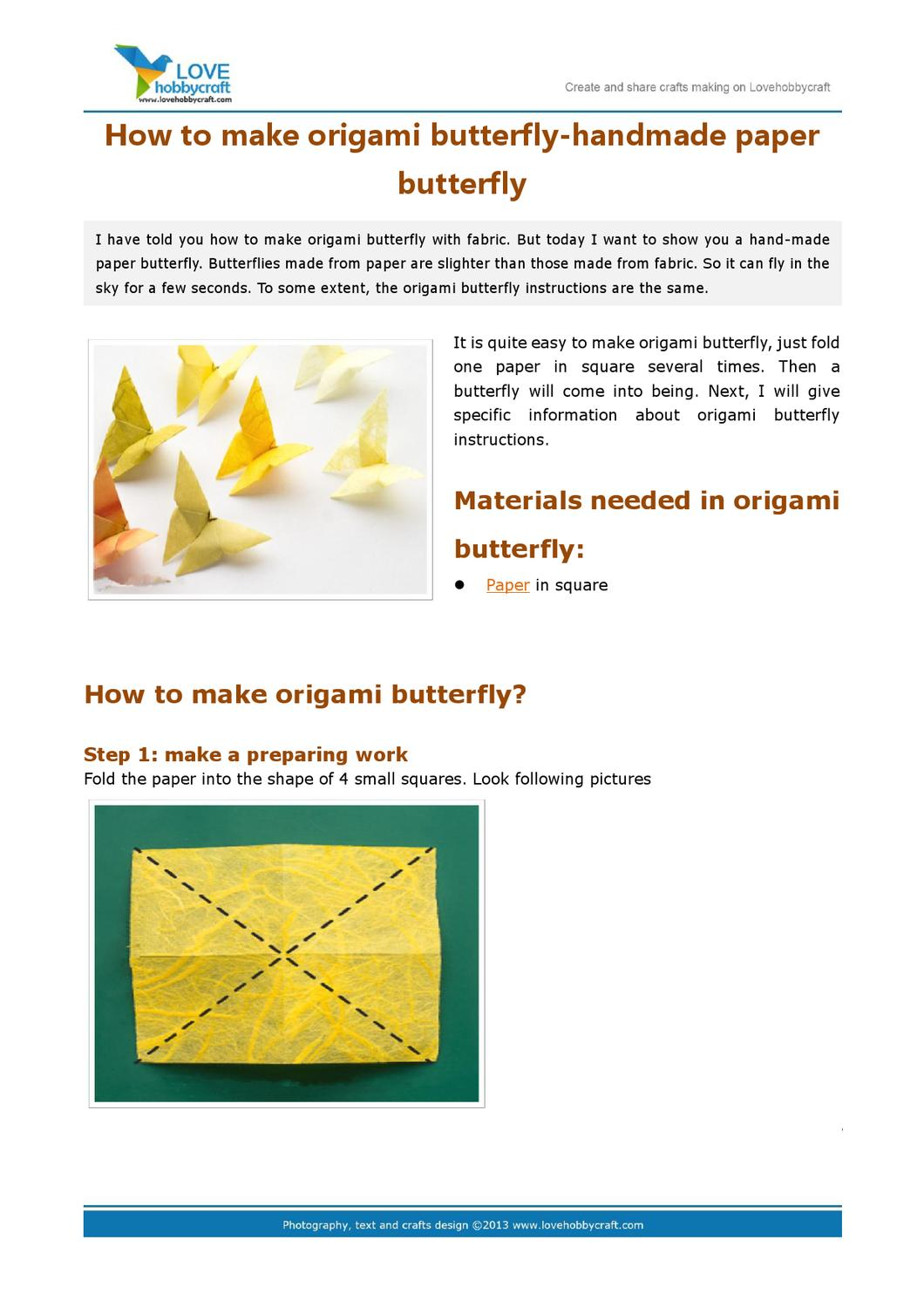 How to DIY Origami Butterfly | Seni origami, Tutorial origami, Origami | 1500x1060