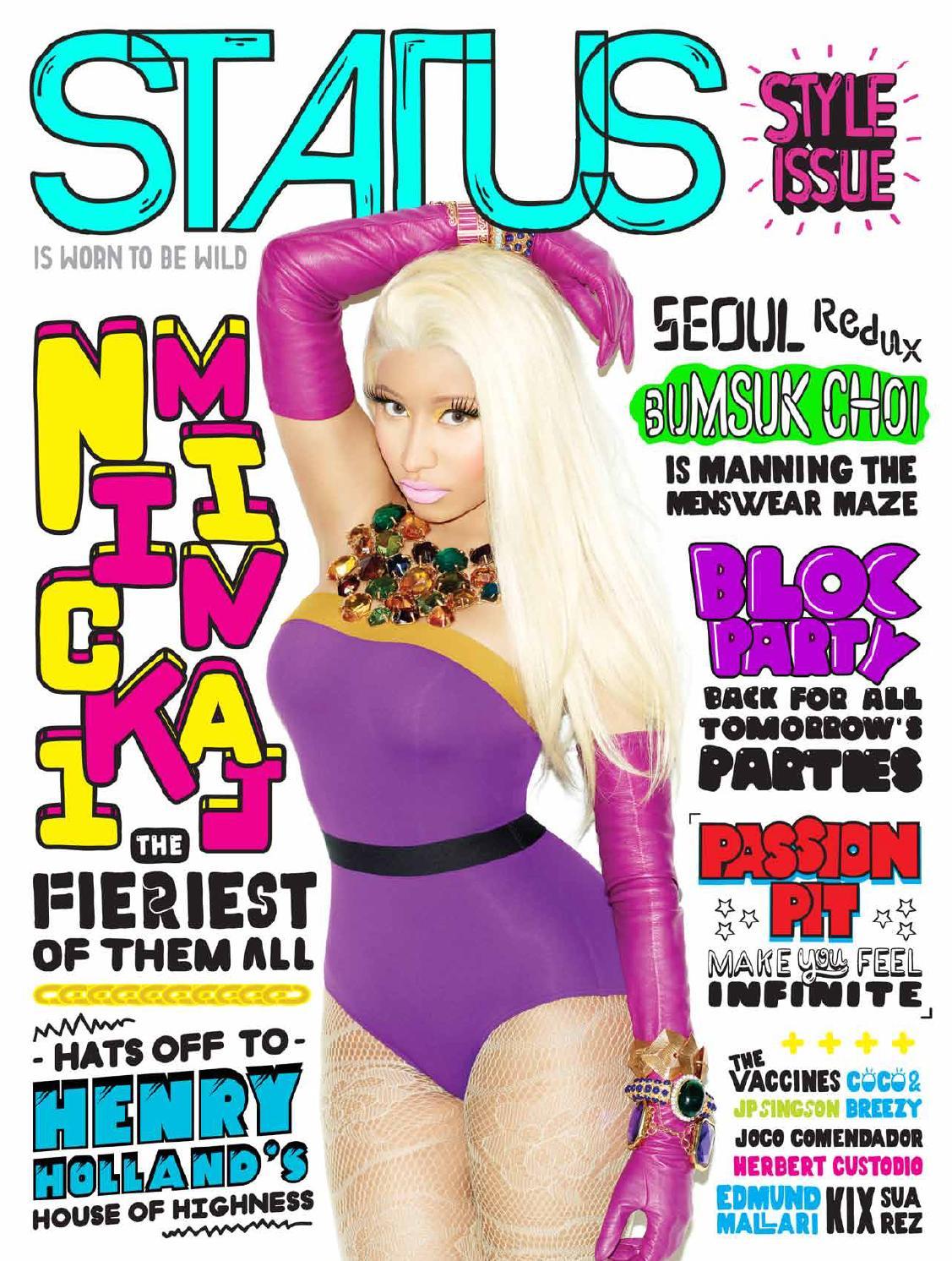 a8baf1d4b STATUS Magazine feat. Nicki Minaj by STATUS Magazine - issuu
