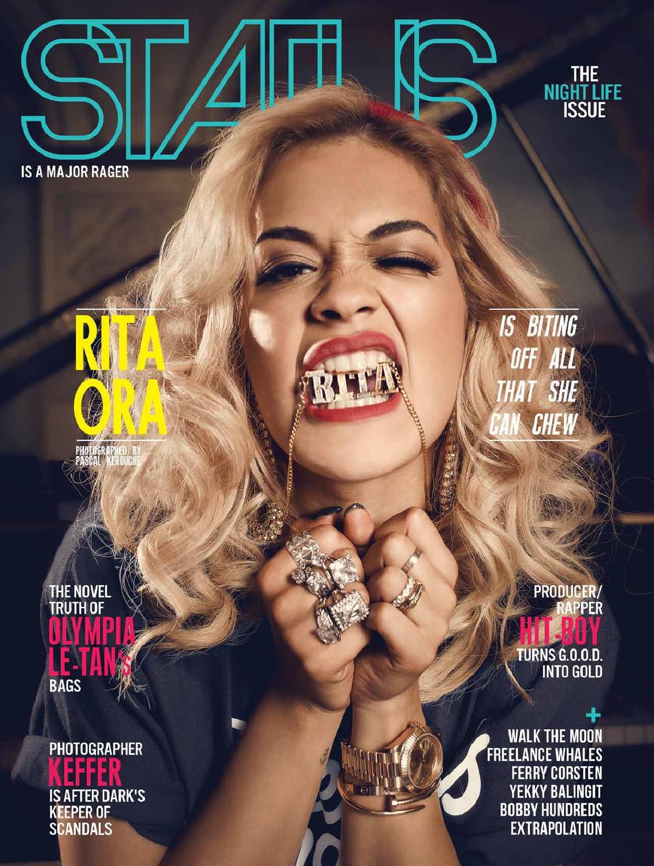 531558ff8d1 STATUS Magazine feat. Rita Ora by STATUS Magazine - issuu