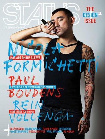 0e57b8428984e5 STATUS Magazine feat. Nicola Formichetti by STATUS Magazine - issuu