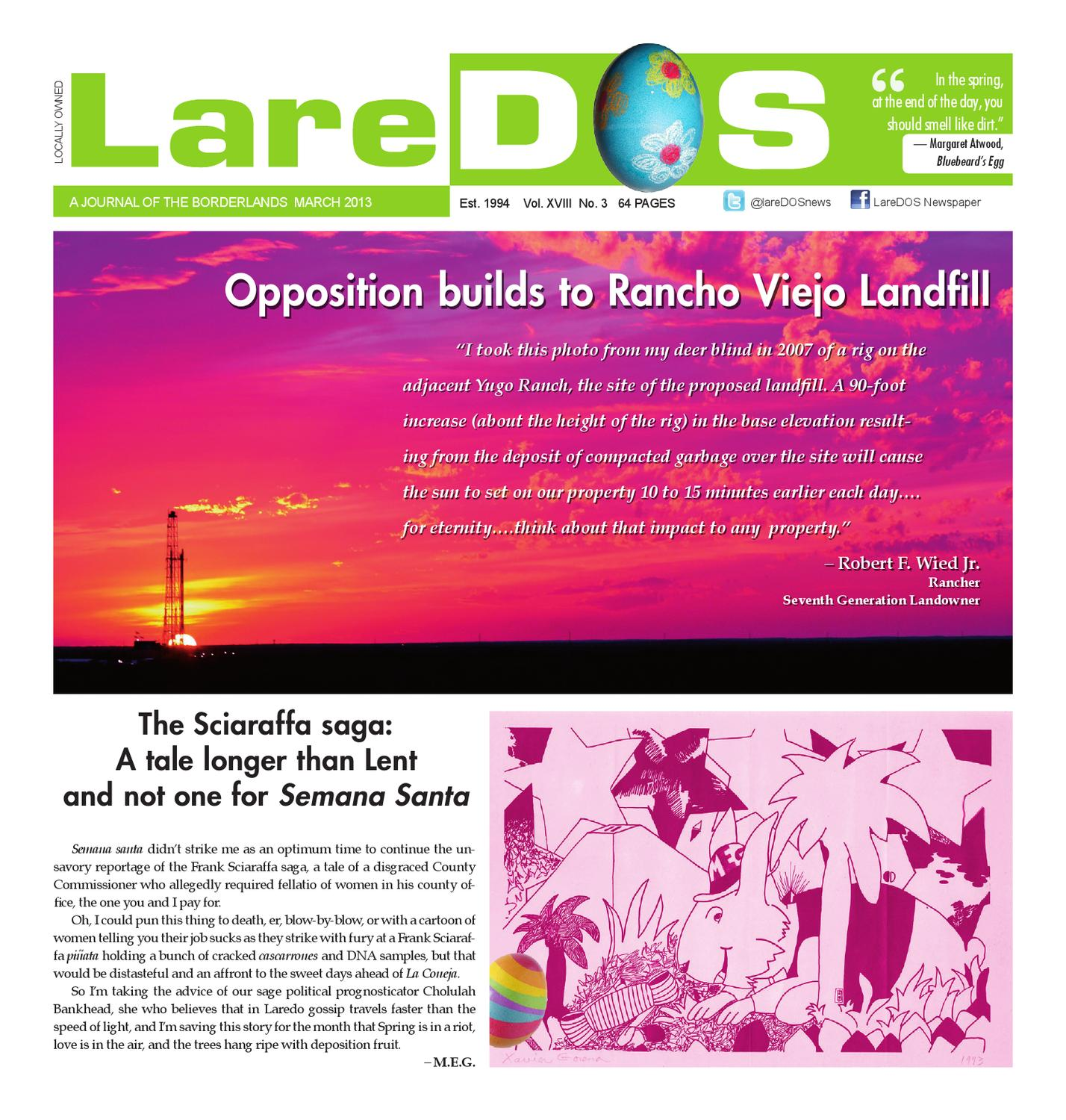 Laredos March 2013 Issue By Maria Eugenia Guerra Issuu