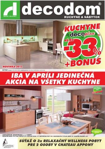 11a98fa7d8ec Akcia Decodom by Decodom - Slovenský výrobca nábytku - issuu