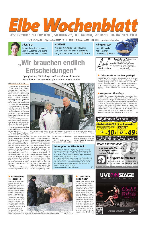 Eimsbüttel KW13 2013 by Elbe Wochenblatt Verlagsgesellschaft