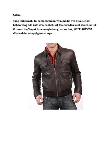Sampel Gambar Jaket Kulit By Pay Diki Issuu