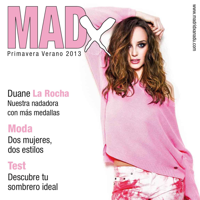 Revista MadX Primavera Verano 2013 by Madrid Xanadú - issuu
