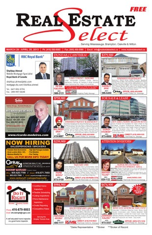 Real Estate Select Newspaper - Volume 7, Issue 3 by Real