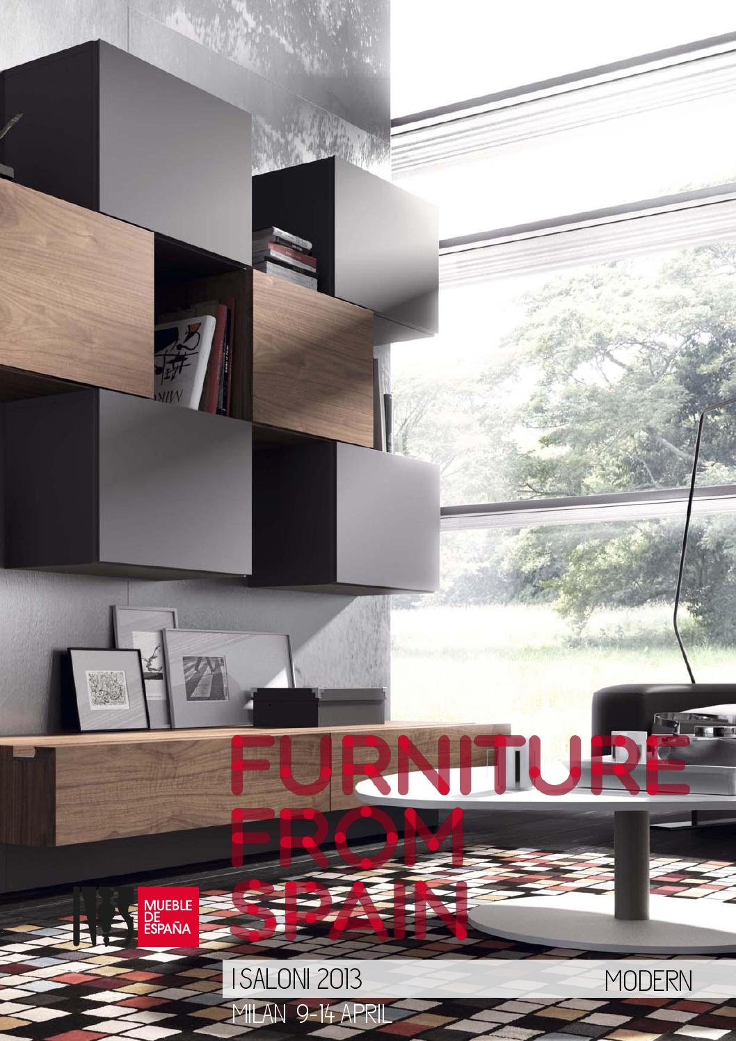 Modern Spanish Furniture At I Saloni 2013 By Furniture From Spain  # Muebles Piferrer La Garriga