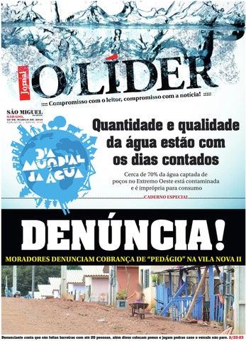 O Líder SMO 27 03 2013 by Jornal O Líder - São Miguel do Oeste e ... 0c46c92bda8b9
