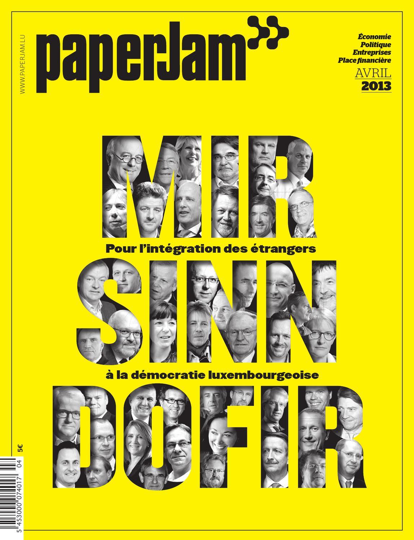 Paperjam economie finances avril 2013 by maison moderne for Maison moderne koedinger