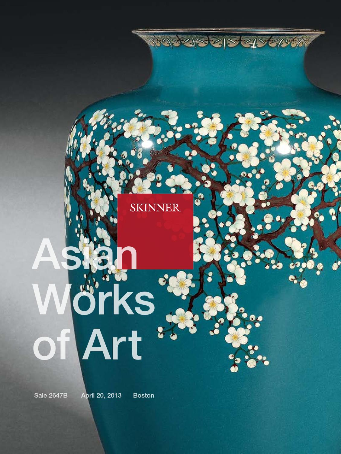 Asian Works of Art | Skinner Auction 2647B by Skinner, Inc. - issuu