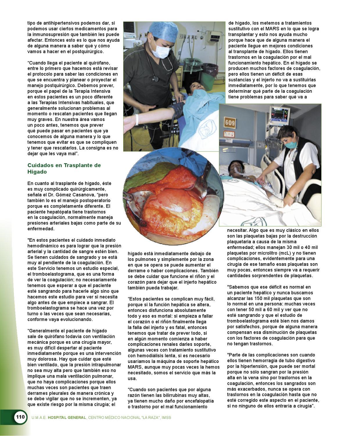 Hipertensión de trasplante de hígado