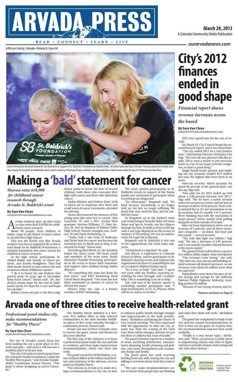 Arvada Press 032813 By Colorado Community Media Issuu