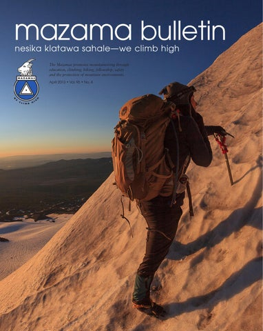 d1bde3532 Mazama April Bulletin by Mazamas - issuu