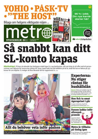 on sale 4b8d8 fea75 20130328 se stockholm by Metro Sweden - issuu