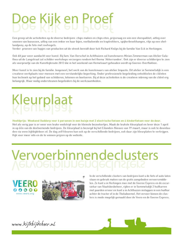 Kijk Bij De Boer 2013 By Eilanden Nieuws Issuu