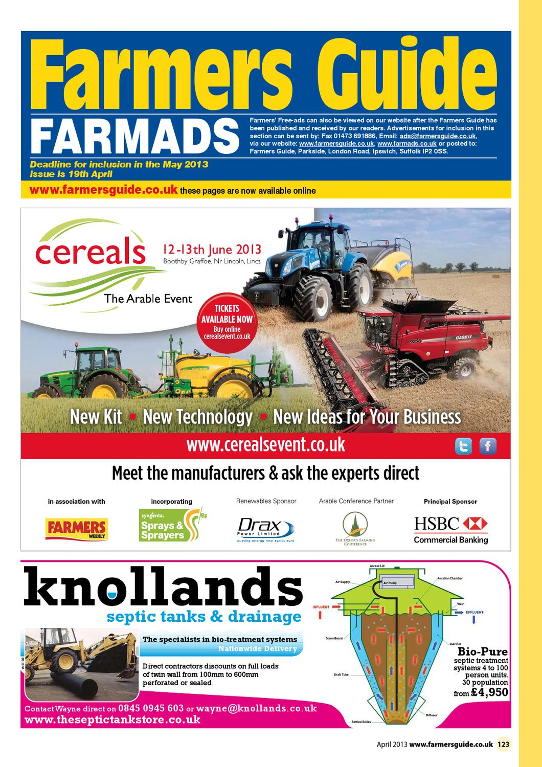Farmers Guide classified section April 2013 by Farmers Guide - issuu