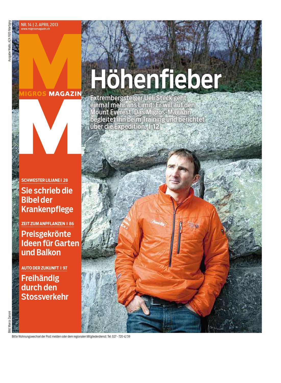 Migros Magazin 14 2013 D Vs