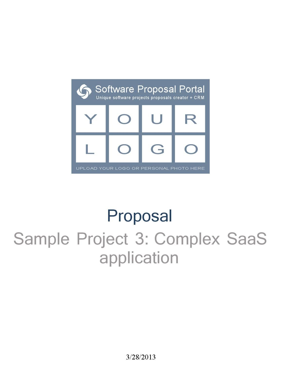 Business Proposal Template Sample With Accurate Effort Estimation By