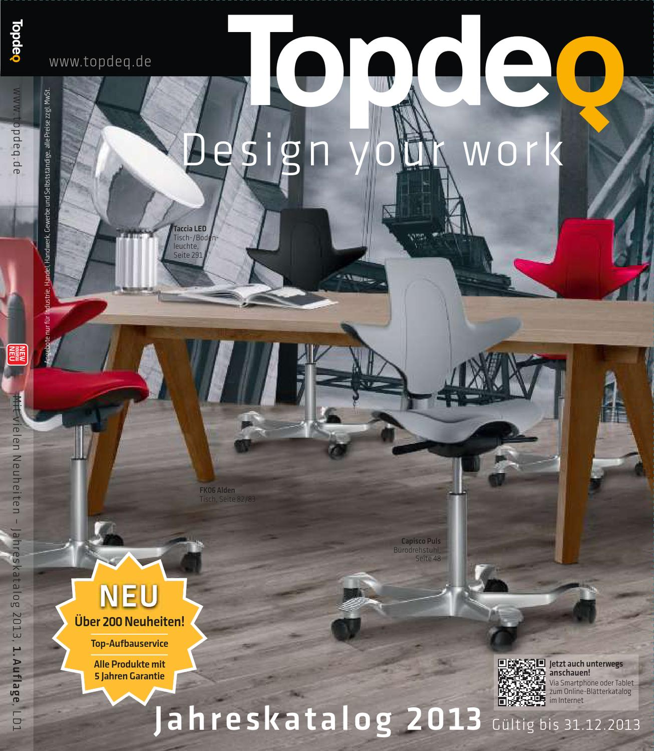 topdeq designmöbel katalog 2013 by topdeq design your work - issuu, Hause ideen