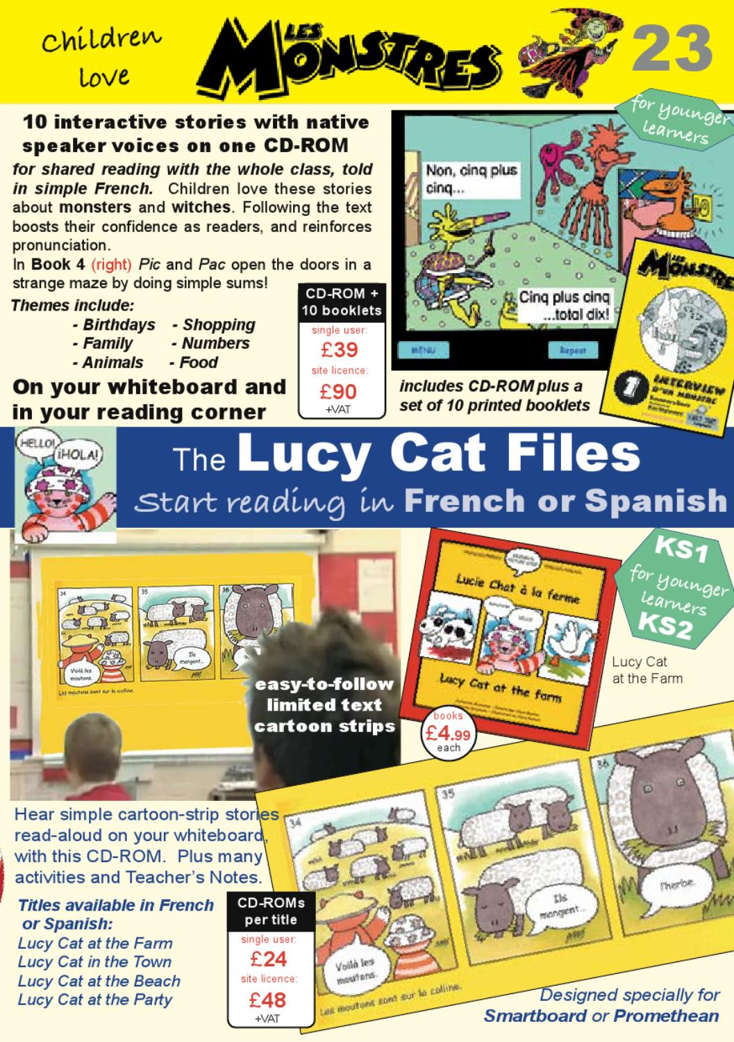 Lucy cat poster