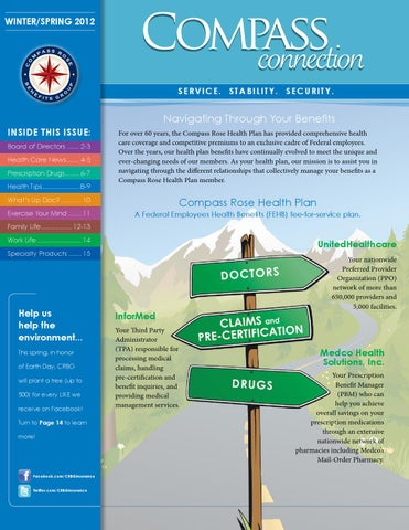 Compass Connection | Spring 2012 Publication by Compass Rose
