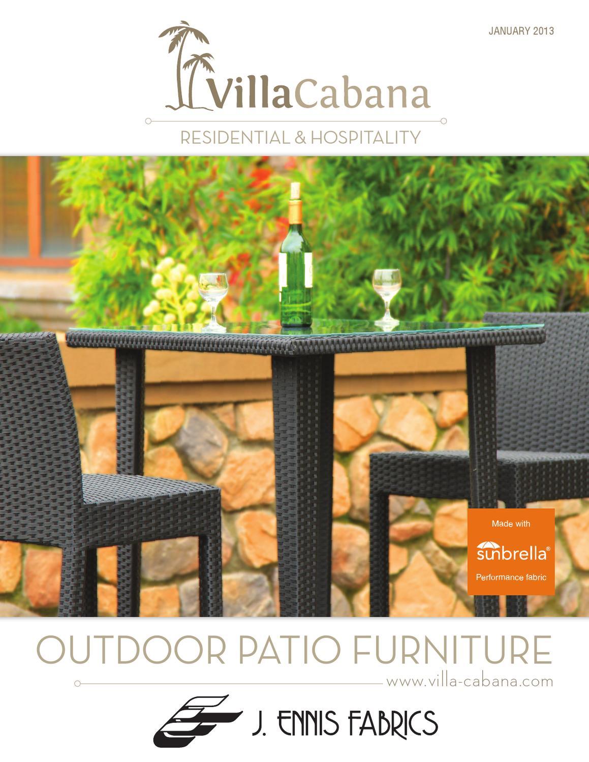 Villa Cabana Furniture Catalogue 12 by Ennis Fabrics - issuu