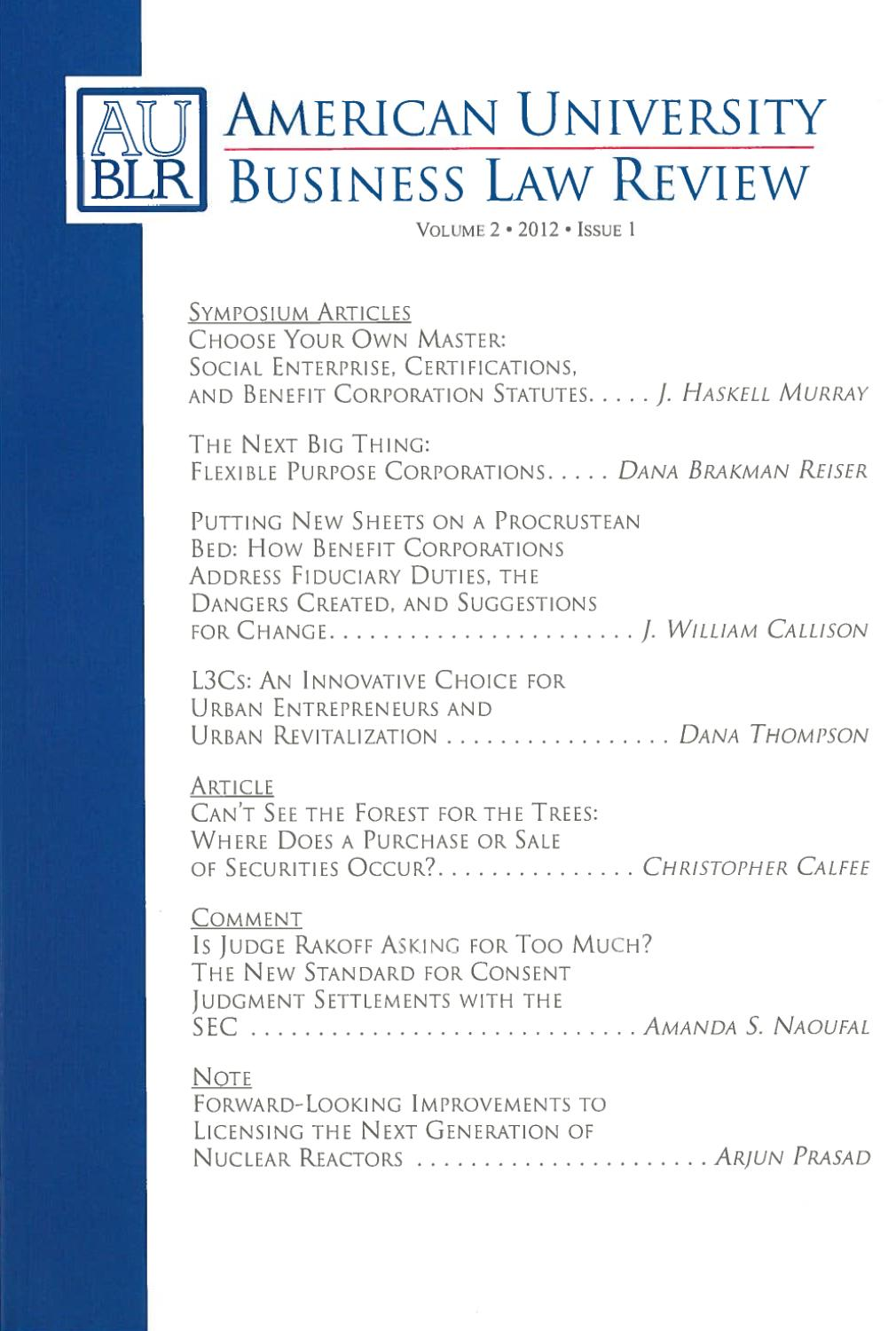 business law review Now published by springer the european business organization law review (ebor) is a leading european publication addressing all legal aspects of business organization the journal serves as a platform for articles, case-notes and book reviews to stimulate scholarly debate and to reflect the speed of how developments in the field translate.