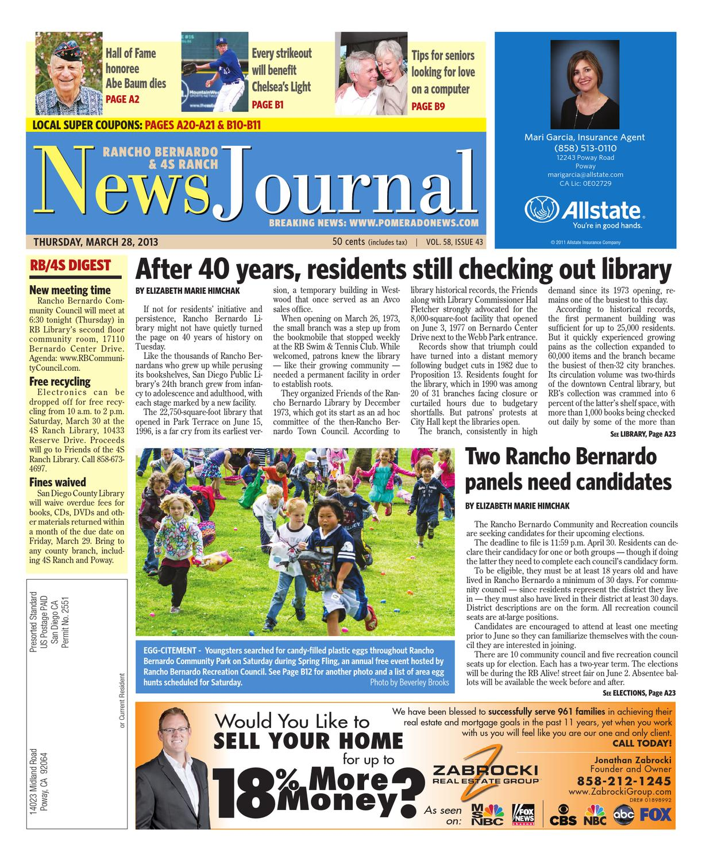032813rb News Journal By Mainstreet Media Issuu