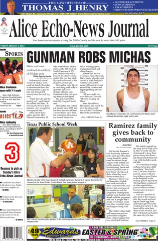 march 9, 2012 alice echo news journal by mauricio cuellar issuumarch 9, 2012 alice echo news journal
